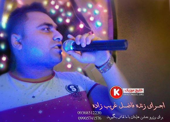 فاضل غریب زاده آهنگ جدید اجرای زنده فارسی و بسیار زیبا و شنیدنی بصورت حفله