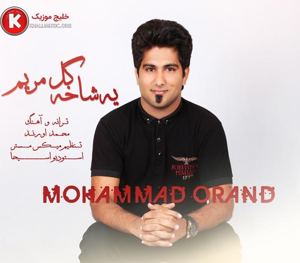 محمد اورند آهنگ جدید و بسیار زیبا و شنیدنی بنام یه شاخه گل مریم